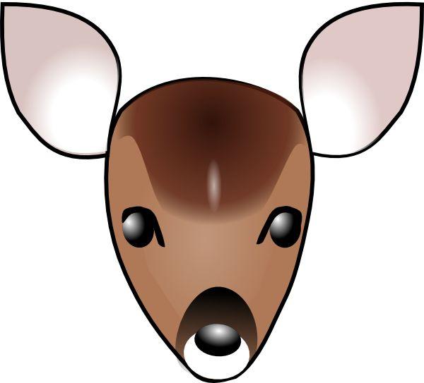 600x543 Buck Clipart Mouse Deer