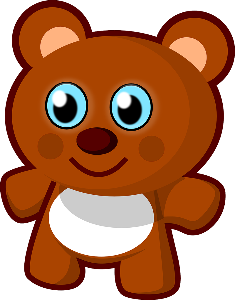 800x1020 Teddy Bear Outline Clipart Free Images 3