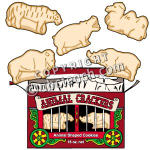 300x300 Animal Crackers Outline Clipart