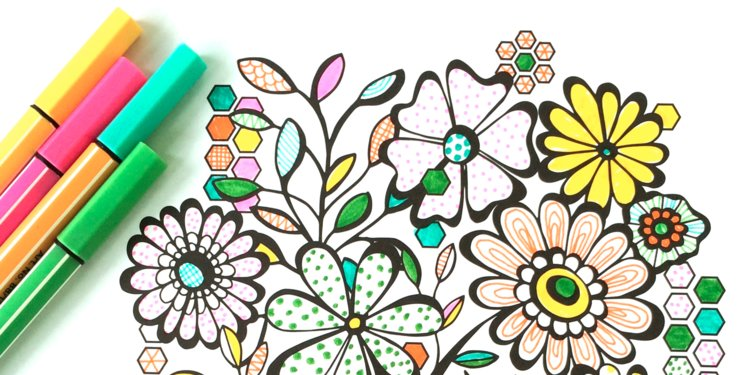 750x375 Artist Cashes In On Adult Coloring Book Craze