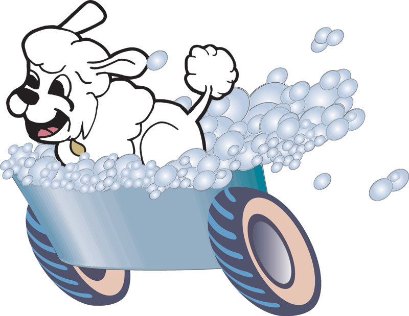 800x619 Bones Clipart Dog Groomer