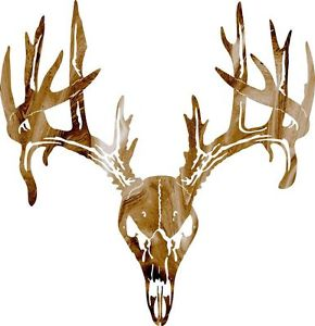290x300 Dxf Cnc Dxf For Plasma Router Clip Art Vector Deer Skull Wall Art