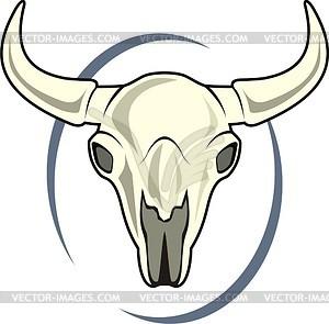 300x295 Animal Skull Clipart