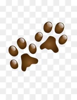 260x340 Squirrel Dog Animal Track Footprint Clip Art