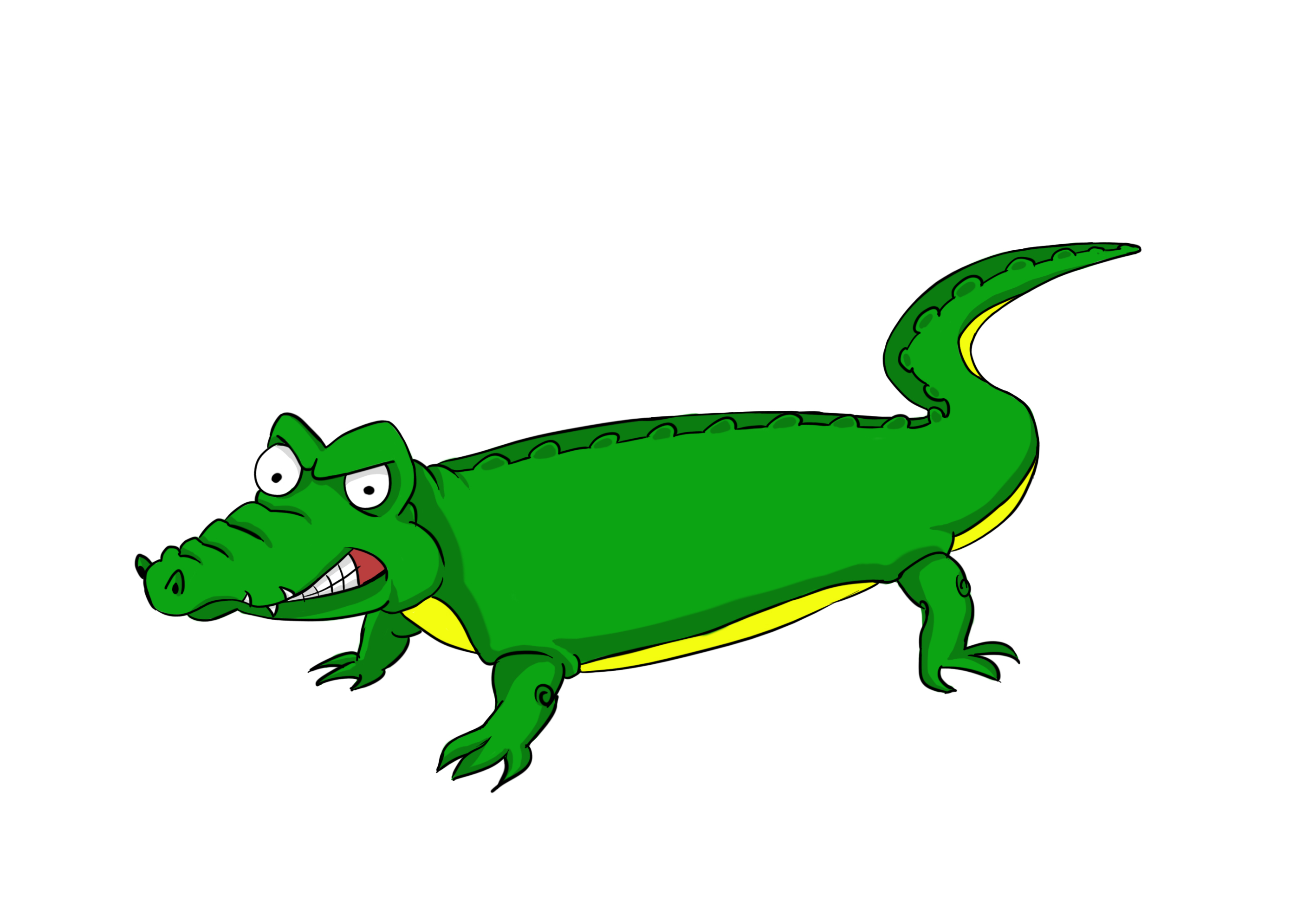 2835x1984 Alligator Clipart Tracks Free Collection Download And Share