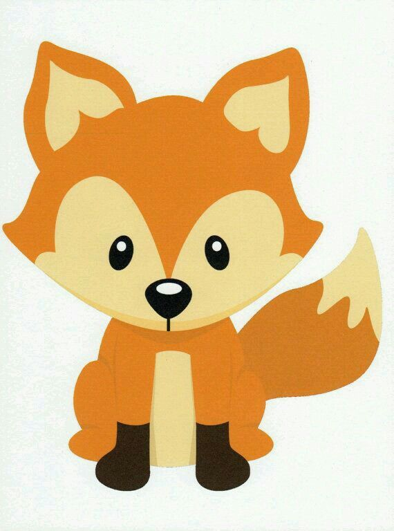 570x768 Zorrito Babies, Foxes And Clip Art