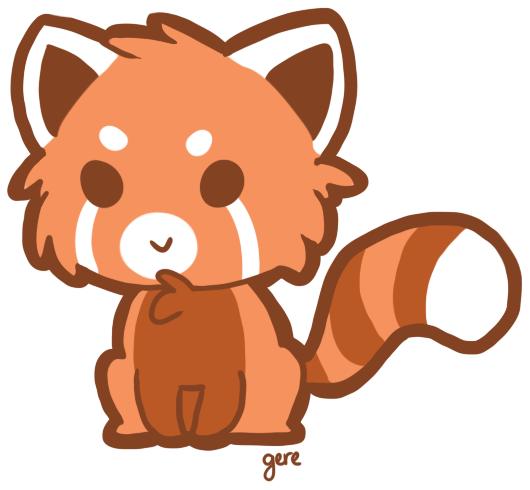 530x490 Anime clipart panda