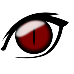 300x300 Anime Eye1 Clip Art