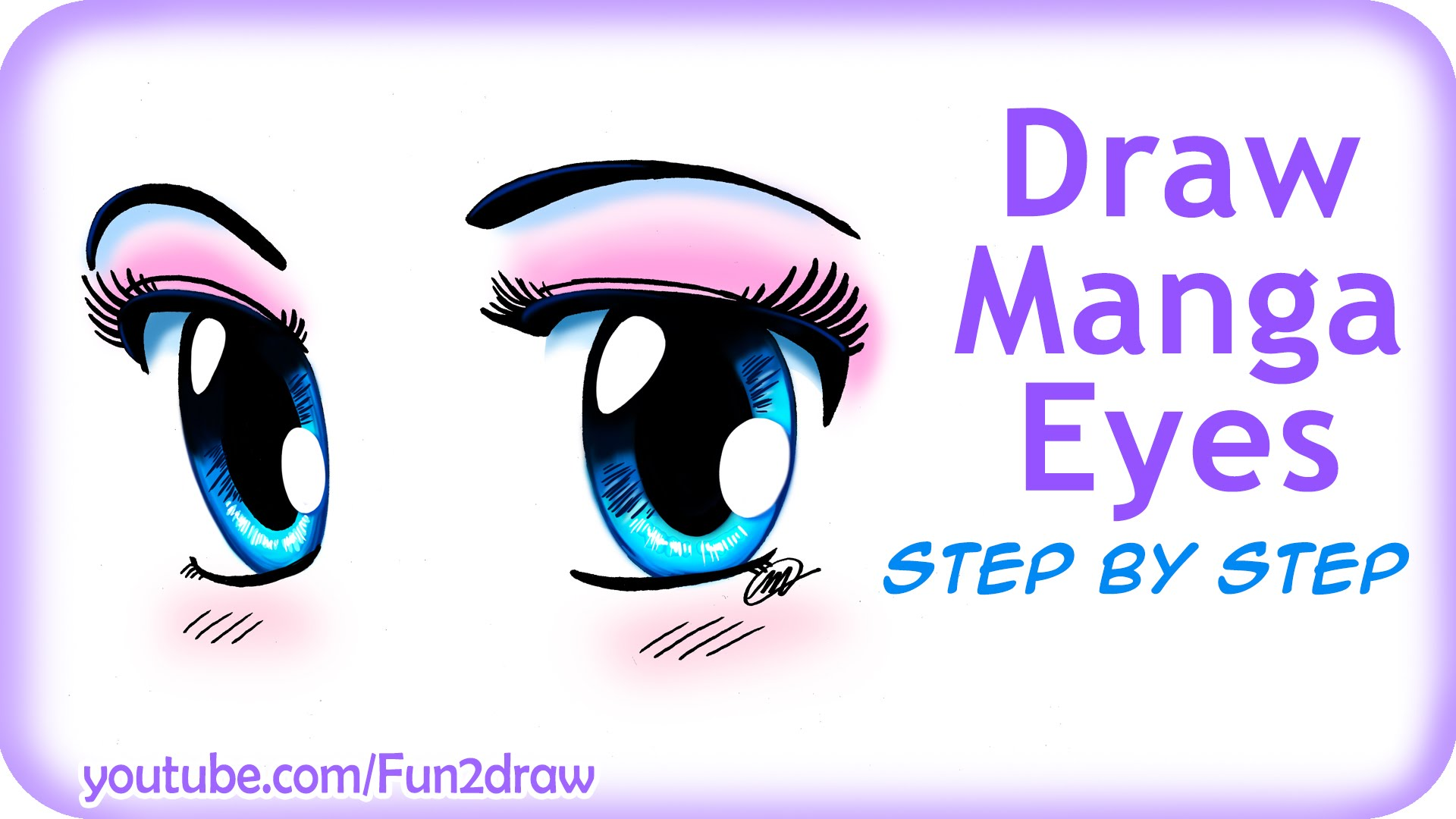 1920x1080 28+ Collection of Cute Anime Eyes Drawing Easy High quality