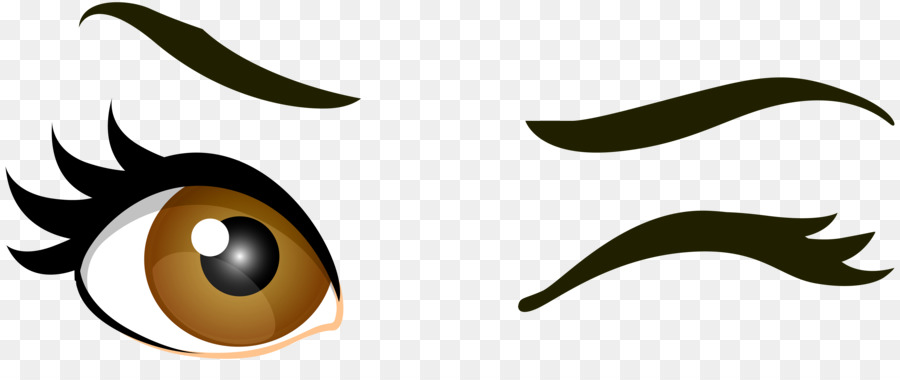 900x380 Wink Eye Drawing Clip art