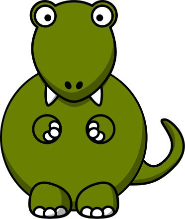 372x440 Dinosaur Clip Art Download