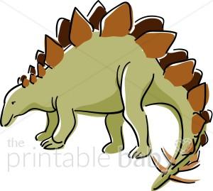 300x269 Stegasaurus Dinosaur Clipart Dinosaur Amp Reptile Clipart