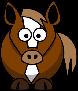 255x297 Cartoon Horse Clip Art