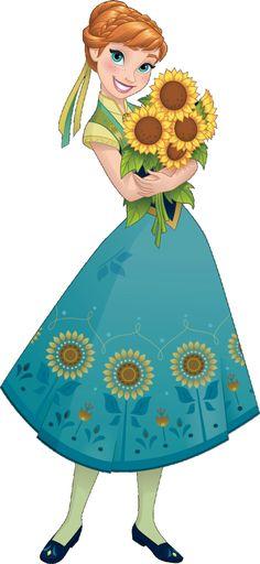 Anna Frozen Clipart