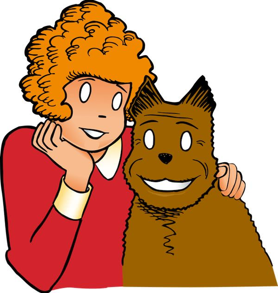 570x600 Orphan Annie Clipart Free Images