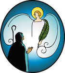 135x150 Annunciation Clipart Group