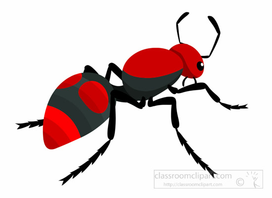 550x400 Ant Clipart Three Pencil And In Color Ant