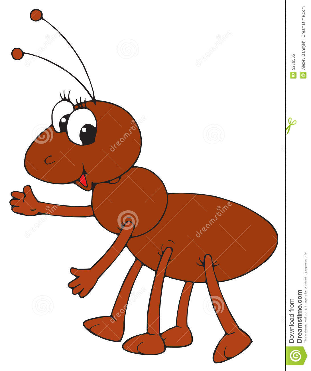 1091x1300 Brown Ant Clipart