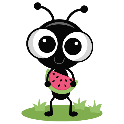 432x432 Standing Ant Miss Kate's Animal Clip Art Ant