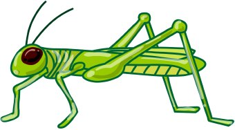 340x188 Ingenious Idea Clip Art Grasshopper Insect The Ant And Cliparts