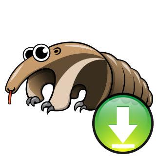 324x324 Cartoon Ant Eater Printable For Good Giant Anteater By Desertdruid