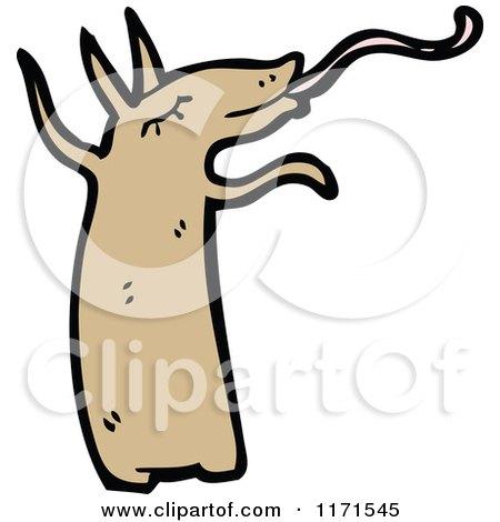 450x470 Cartoon Of An Anteater