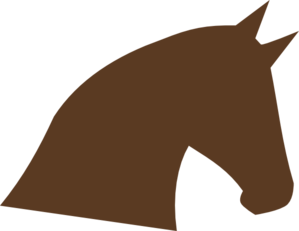 299x231 Horse Head Silhouette Png, Svg Clip Art For Web