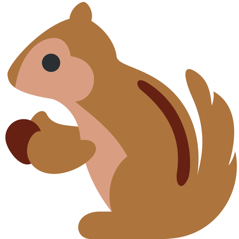 1000x1000 Squirrel Clip Art Image Free