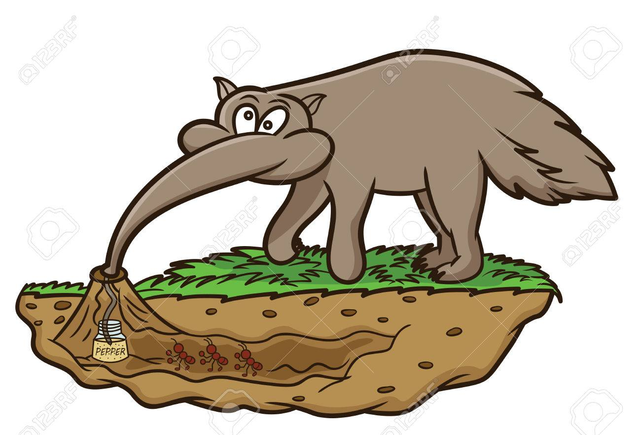 1300x882 Alert Famous Cartoon Ant Eater Anteater Looking For Ants