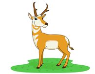 195x152 Free Antelope Clipart