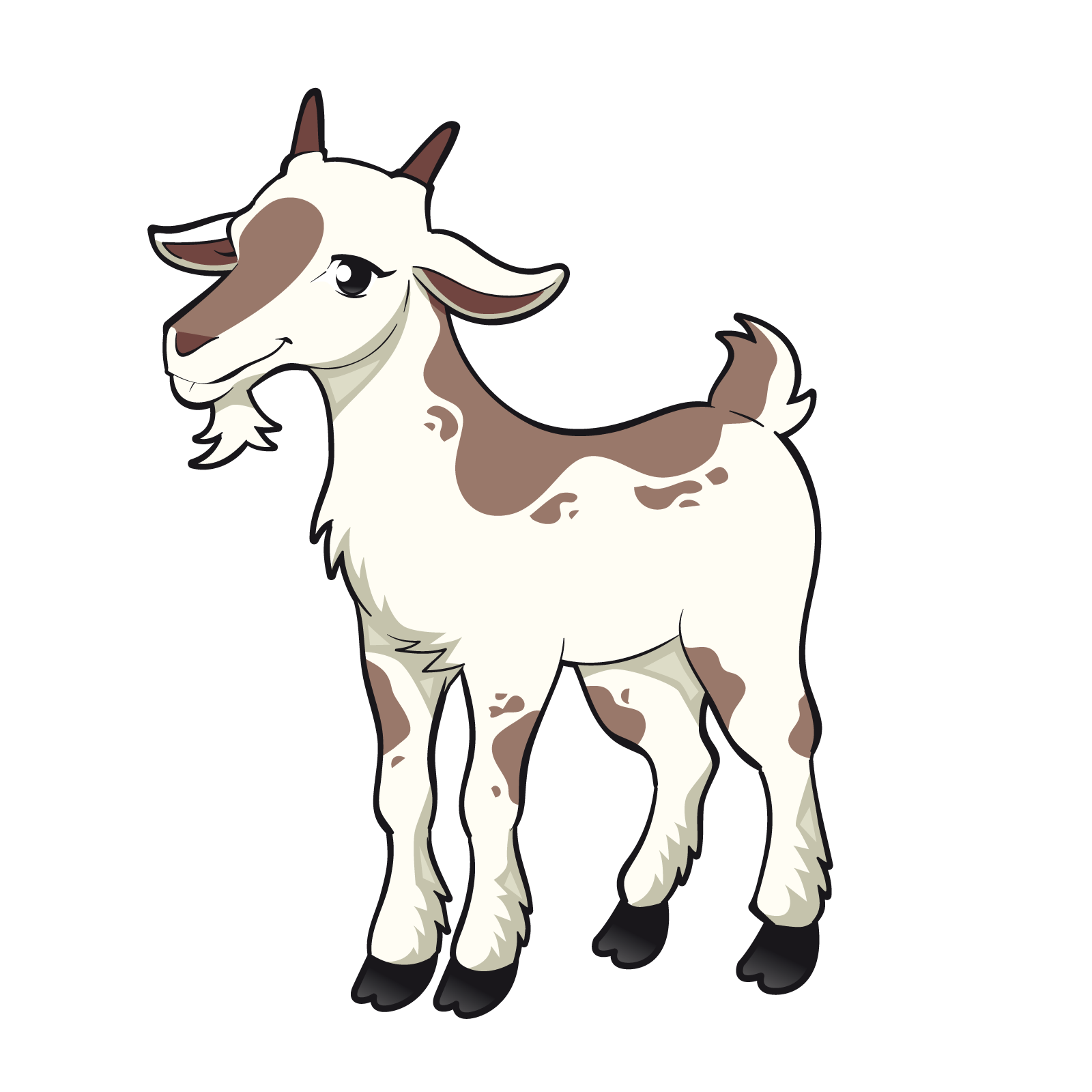 1600x1600 Goat Sheep Clip Art