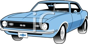 350x178 Classic Car Clipart American Pencil And In Color