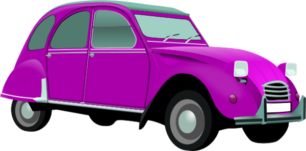 600x297 Image Of Classic Car Clipart