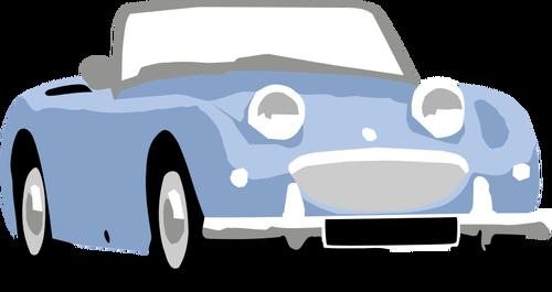 500x265 Orange Classic Car Vector Clip Art Public Domain Vectors