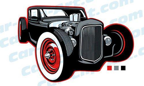 500x300 Rat Rod Clip Art Rats And Cars