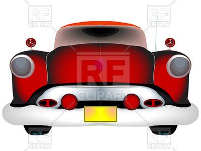 400x300 Red Classic Car