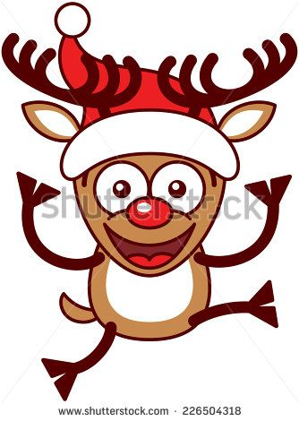 334x470 Antler Clipart Red Nose