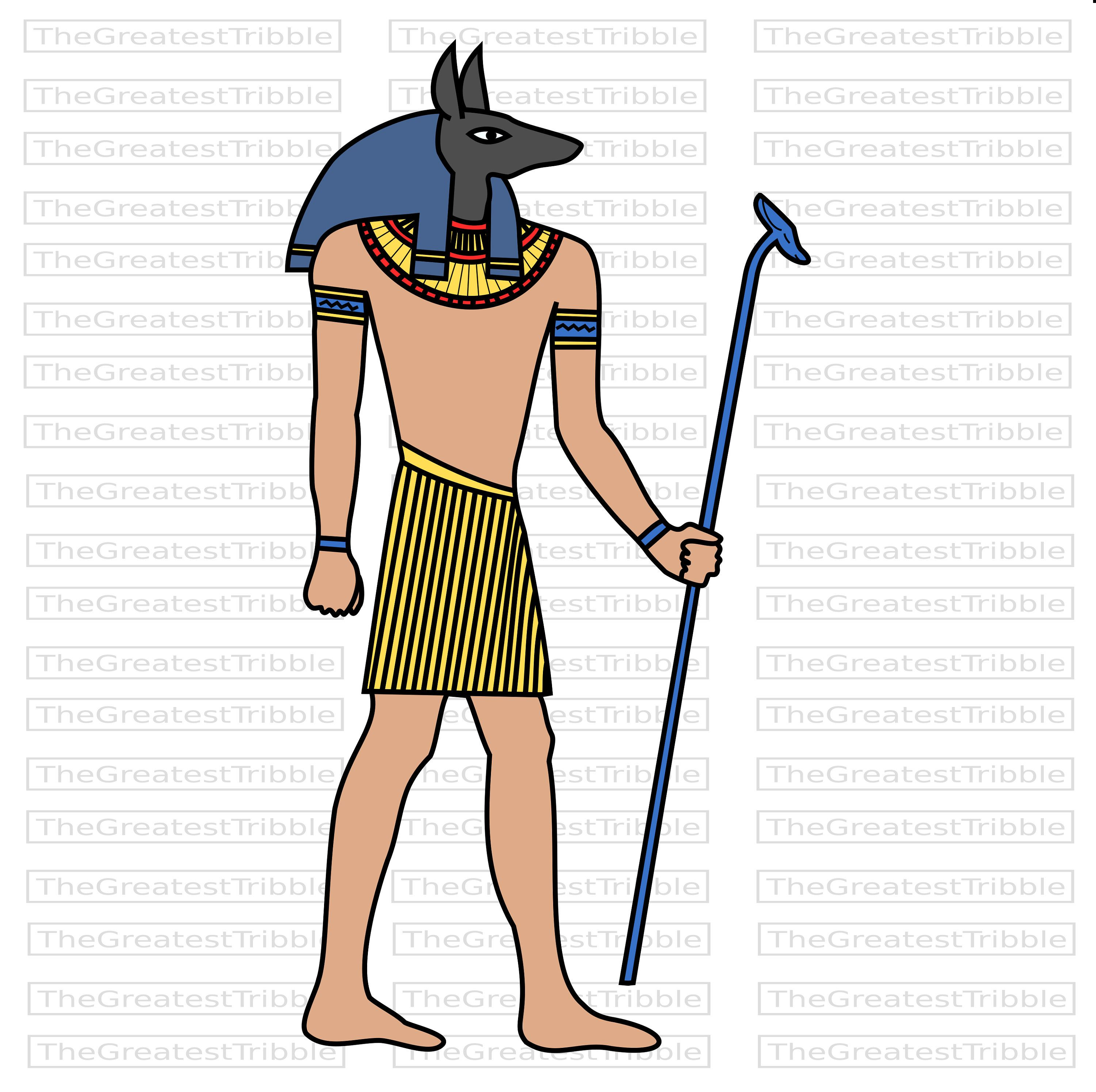 3000x2990 Anubis Egyptian God Clip Art Eps Svg Png Jpg Vector Graphic Clip
