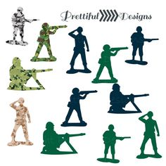 236x236 Military Armament And Troops Silhouettes. Army Aircraft, Artillery