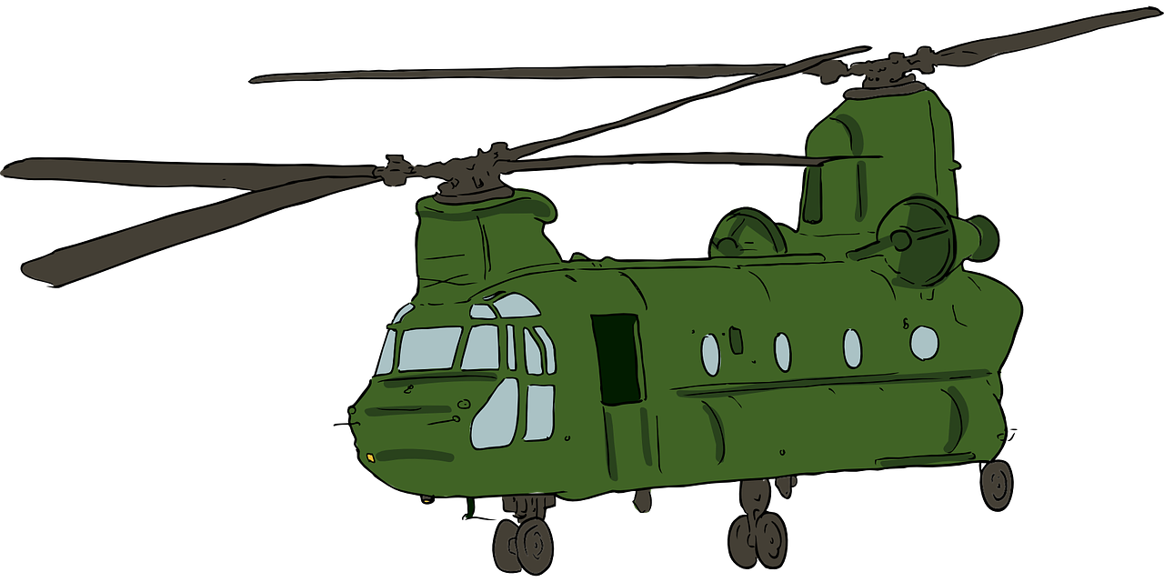 1280x640 Military Helicopter Boeing Ch 47 Chinook Boeing Ah 64 Apache Clip