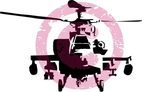 570x371 Apache Boeing Ah 64 Usmc Helicopter Cricut Gunship