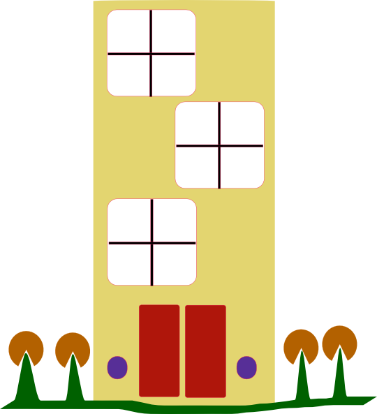 540x593 Art Clip Apartment