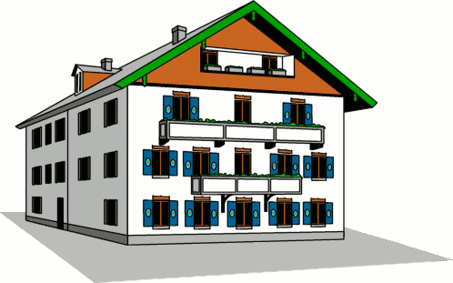 498x311 Free House Clipart