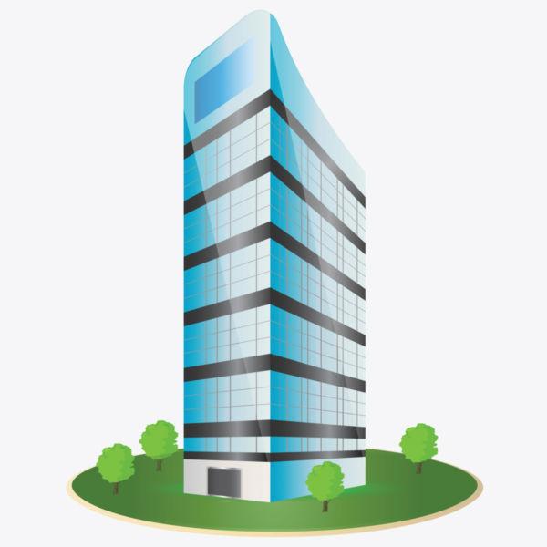 600x600 Top 78 Building Clip Art