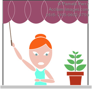300x292 Plant In The Window Clipart Amp Stock Photography Acclaim Images