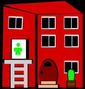 282x297 Apartment Building Clip Art