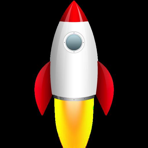 512x512 Apollo 11 Spacecraft Rocketship Clip Art