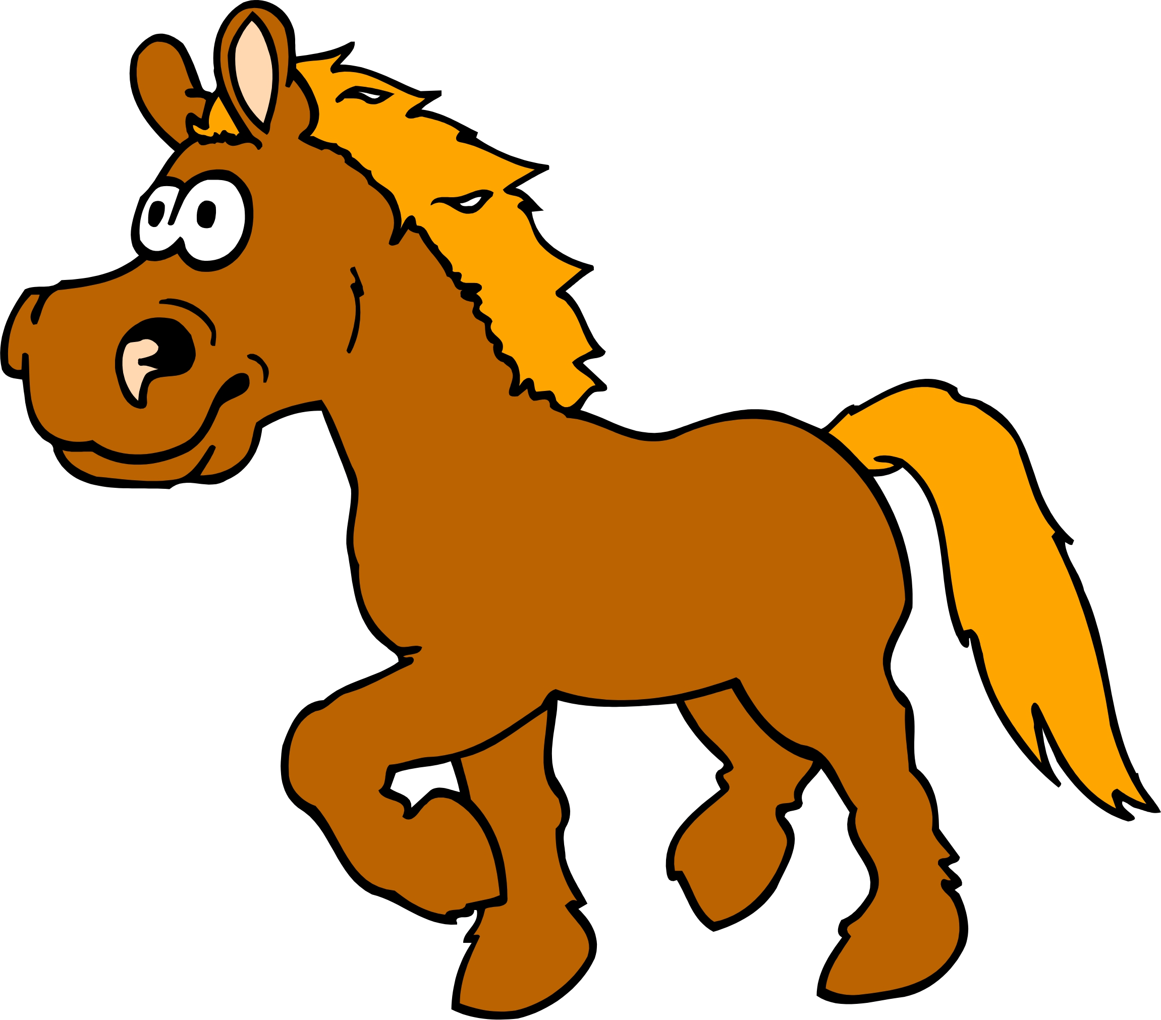 2301x2022 Cartoon Pics Of Horses
