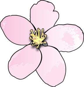 288x298 Apple Blossom Clipart, Download Apple Blossom Clipart