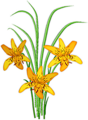 300x406 Animated Blooming Flower Clip Art